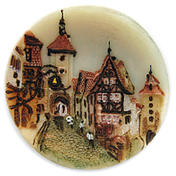 German Souvenir Rothenberg Fridge Magnet / Large - ScandinavianGiftOutlet