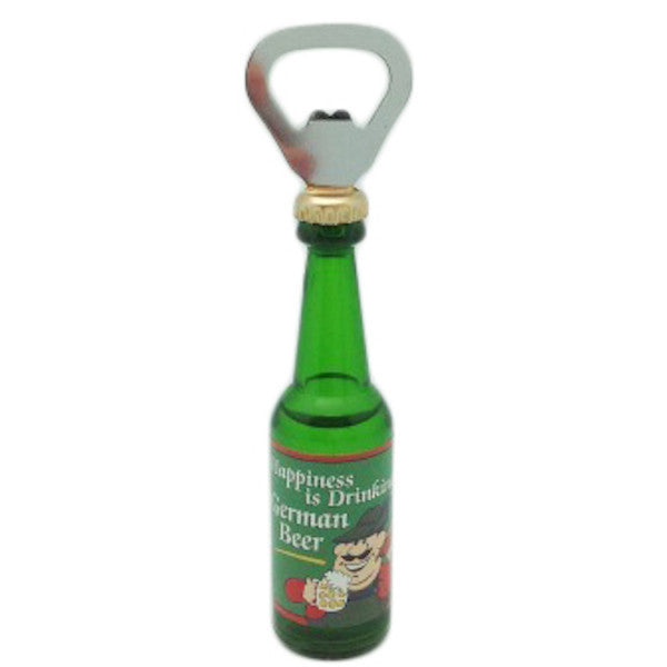 Happiness is Drinking German Beer Magnetic Bottle Openers - ScandinavianGiftOutlet