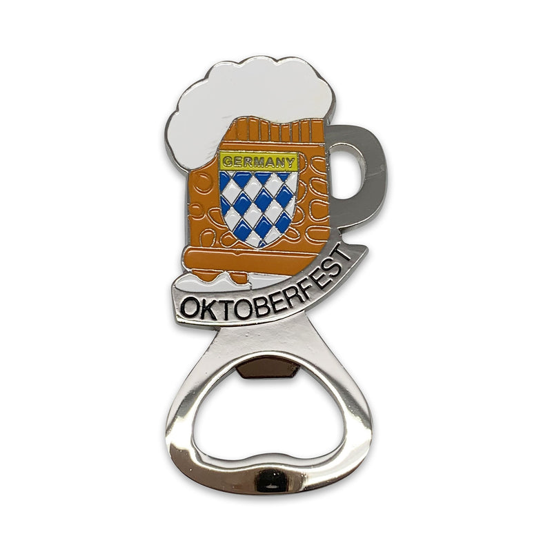 Metal Beer Bottle Opener Oktoberfest Beer Stein Party Favor - ScandinavianGiftOutlet