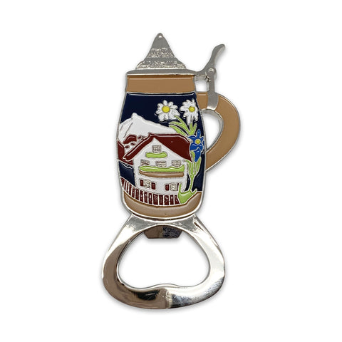 Metal Beer Bottle Opener German Stein Party Favor - ScandinavianGiftOutlet