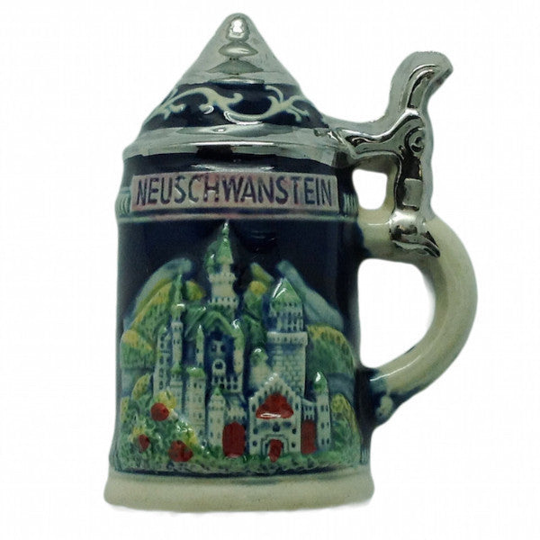 German Party Favor Stein Magnet Ludwig Castle - ScandinavianGiftOutlet