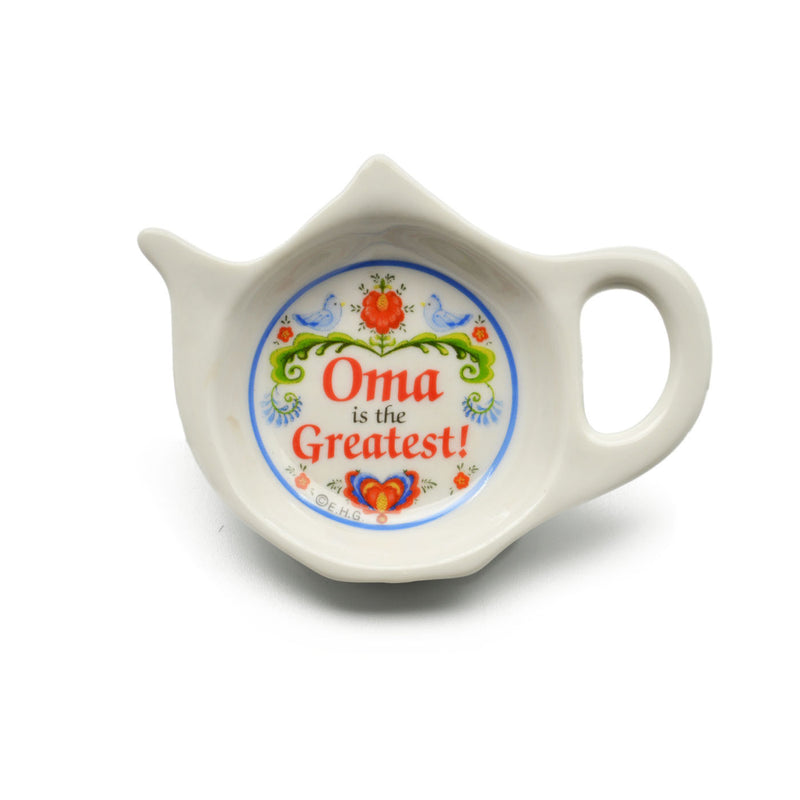 Oma is the Greatest Teapot Magnet - ScandinavianGiftOutlet