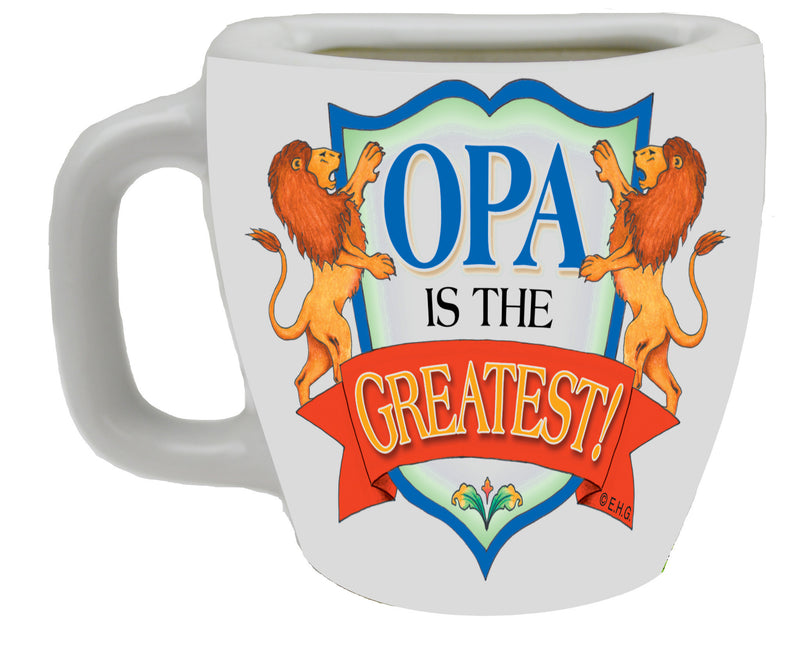 """Opa is the Greatest"" Cup Magnet - ScandinavianGiftOutlet"