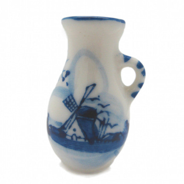Miniature Ceramic Delft Blue Pitcher - ScandinavianGiftOutlet