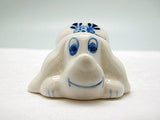 Animals Miniatures Delft Blue Happy Dog - ScandinavianGiftOutlet