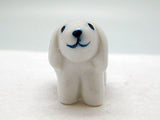 Porcelain Animals Blue Miniatures Lamb - ScandinavianGiftOutlet