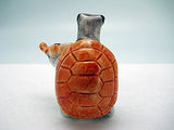Miniature Musical Instrument Turtle With Violin - ScandinavianGiftOutlet