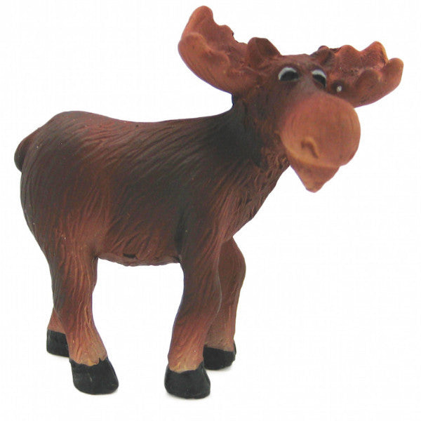 Animal Miniatures Moose Poly Resin - ScandinavianGiftOutlet