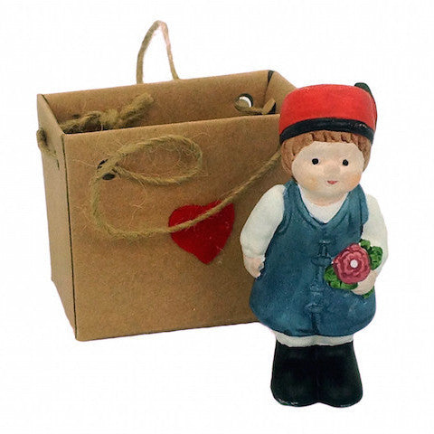 Collectible Miniature Polish Boy - ScandinavianGiftOutlet