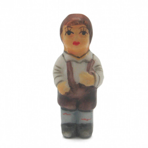 German Souvenir Miniature Bavarian Boy - ScandinavianGiftOutlet