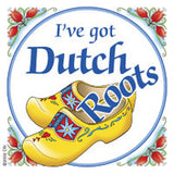 Dutch Souvenirs Magnet Tile (Dutch Roots) - ScandinavianGiftOutlet  - 1