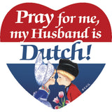 Fridge Tile: Dutch Husband - ScandinavianGiftOutlet