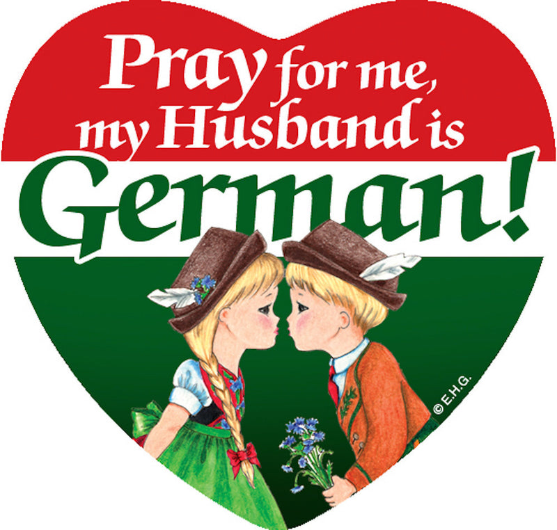 Magnetic Tile: German Husband - ScandinavianGiftOutlet