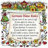 German Gift Idea Magnet (German Haus Rules) - ScandinavianGiftOutlet  - 1