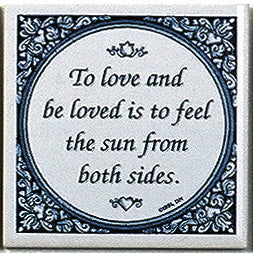Magnetic Tiles Quotes: Love & Be Loved - ScandinavianGiftOutlet  - 1