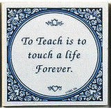 Magnetic Tiles Quotes: Teach Touch Life Forever - ScandinavianGiftOutlet  - 1