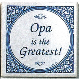German Gift For Opa: Opa Is Greatest - ScandinavianGiftOutlet