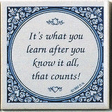 Magnet Tiles Quotes: What You Learn After Know It All - ScandinavianGiftOutlet  - 1