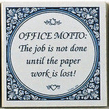 Magnet Tiles Quotes: Office Motto? - ScandinavianGiftOutlet  - 1