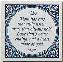 Magnet Tiles Quotes: Mom Has Ears That Listen - ScandinavianGiftOutlet  - 1