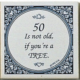 Magnet Tiles Quotes: 50 Not Old If Tree - ScandinavianGiftOutlet  - 1