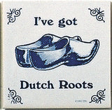 Dutch Culture Magnet Tile (Dutch Roots) - ScandinavianGiftOutlet  - 1