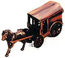 Antique Pencil Sharpener: Buggy w/ Horse - ScandinavianGiftOutlet