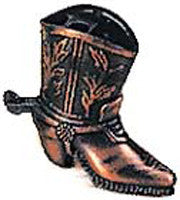 Antique Pencil Sharpener: Cowboy Boot - ScandinavianGiftOutlet