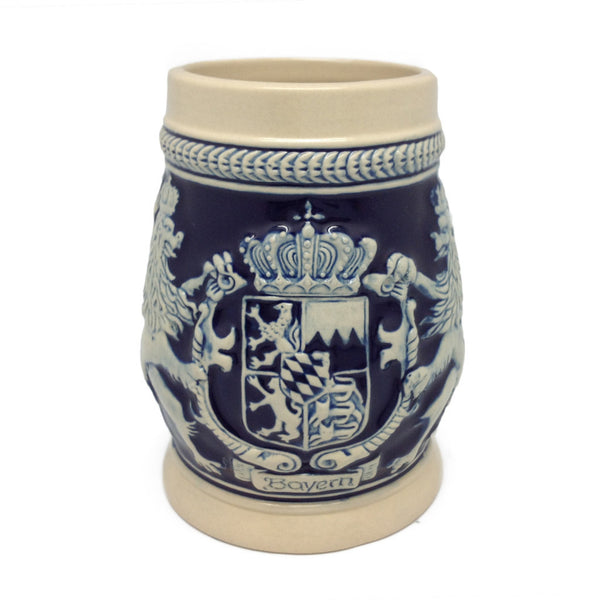 Bayern Coat of Arms Ceramic Beer Stein no/Lid - ScandinavianGiftOutlet