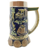 Beer Brewing Collectible .85L Beer Stein - ScandinavianGiftOutlet