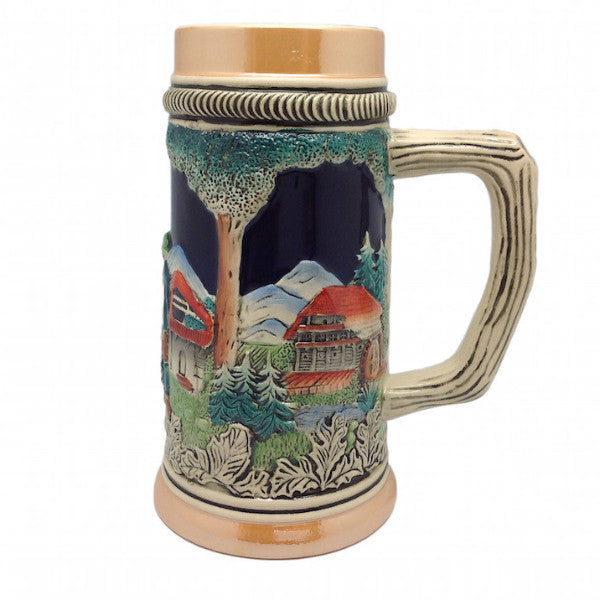 German Beer Stein Clock & Waterwheel no/Lid - ScandinavianGiftOutlet  - 1