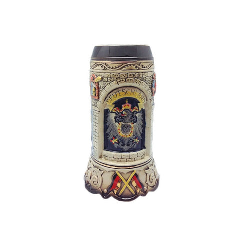 Scenic Germany Engraved Collectible Beer Stein without lid