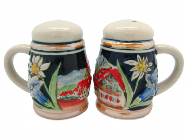 Engraved Beer Stein: Village Salt and Pepper Set - ScandinavianGiftOutlet  - 1