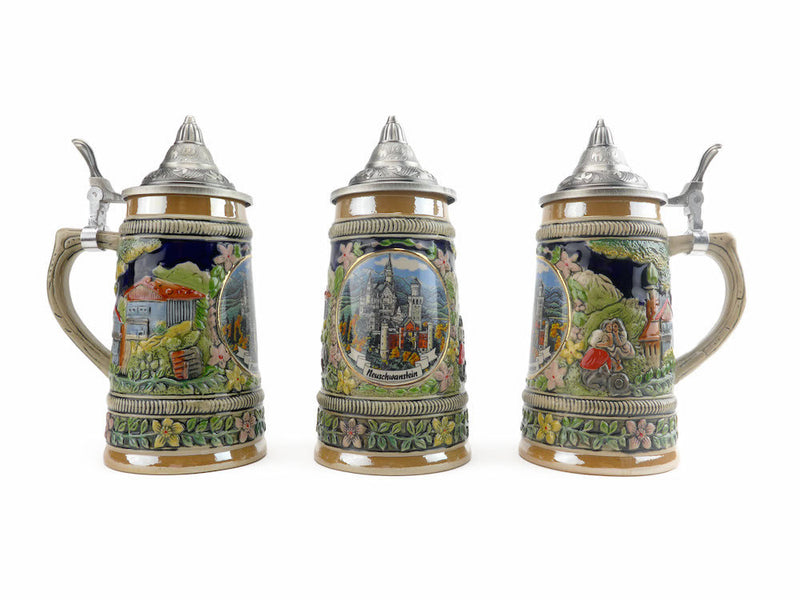 Ludwig's Beer Stein with Lid - ScandinavianGiftOutlet