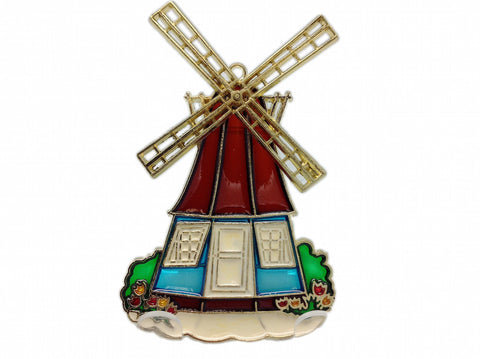 Windmill Sun Catcher Dutch Gift Idea / Large - ScandinavianGiftOutlet  - 1