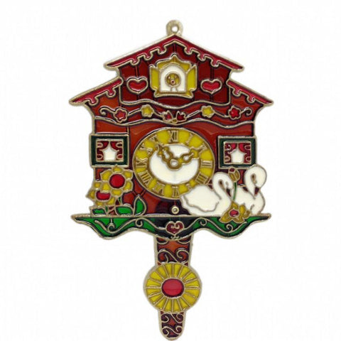 German Cuckoo Clock Sun Catcher - ScandinavianGiftOutlet