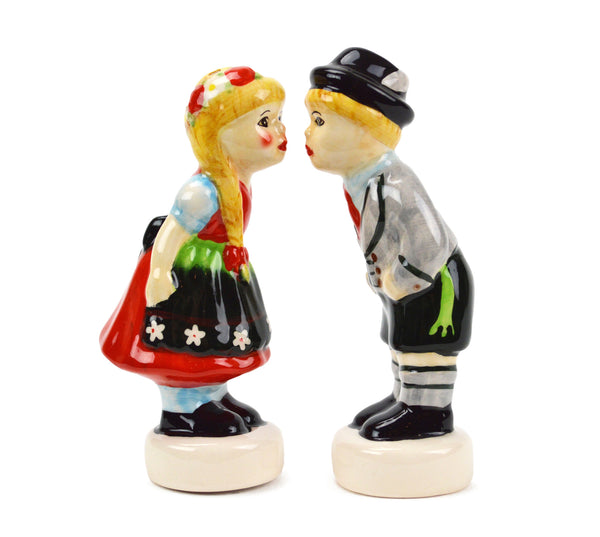 Ceramic Salt and Pepper Shakers German Couple - ScandinavianGiftOutlet