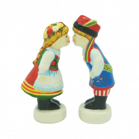 Polish Gift Idea Ceramic Salt & Pepper Set - ScandinavianGiftOutlet  - 1