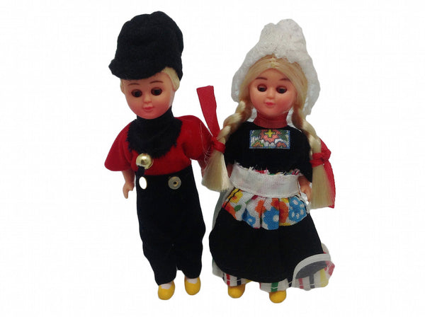 Ethnic Dutch Dolls Costume Boy and Girl - ScandinavianGiftOutlet  - 1