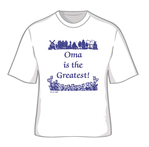 """Oma is the Greatest"" T Shirt XXL - Scandinaviangiftoutlet.com"