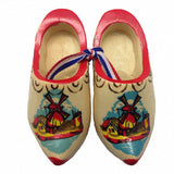 Dutch Shoes Decorated Wooden Clogs - ScandinavianGiftOutlet  - 2