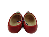 "Decorative Dutch Shoe Clogs w/ Windmill Design Red- 4.25"" - ScandinavianGiftOutlet"