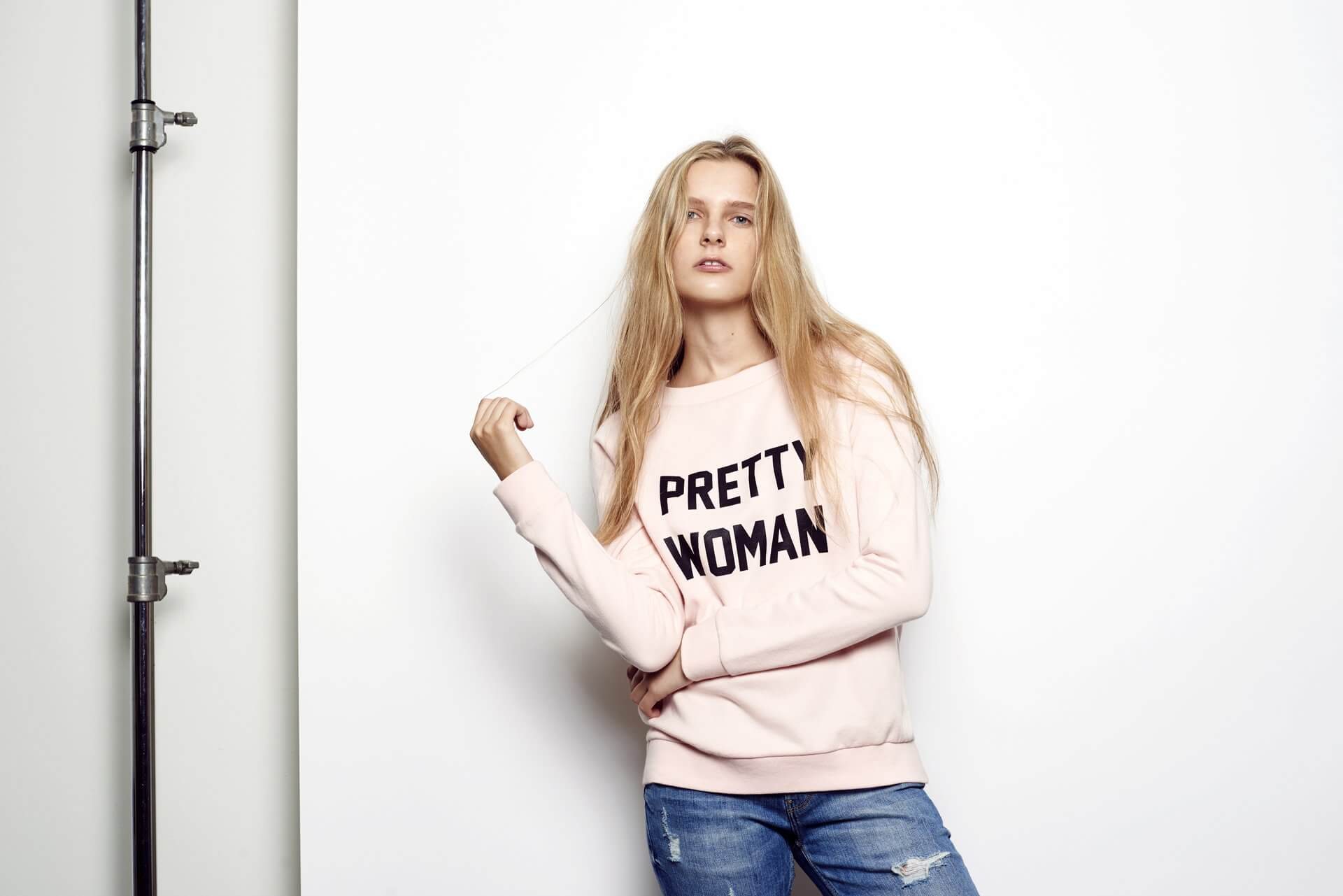 Light pink 'Pretty Woman' sweatshirt