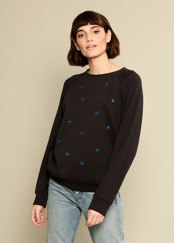 Rocky - Sweatshirt - Mini Stars - Black