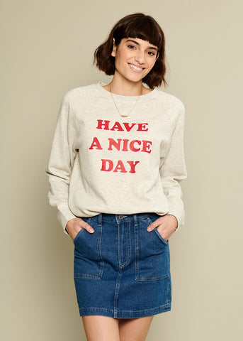 Rocky - Sweatshirt - Have A Nice Day - Gray