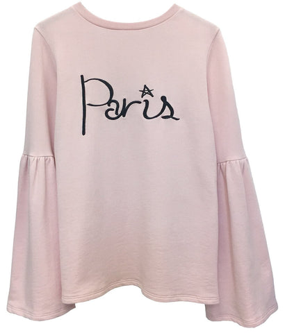 Christy - Bell Sleeve Sweatshirt - Paris