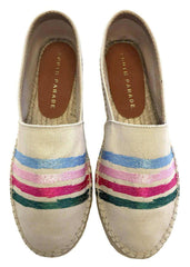 Stripes - Beige Espadrille