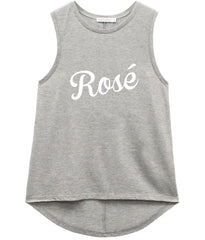 Whitney - Muscle Tee - Rosé