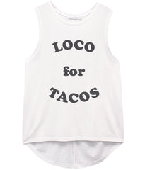 Whitney - Muscle Tee - Loco for Tacos