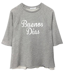Julie - Short Sleeve Sweatshirt - Buenos Dias